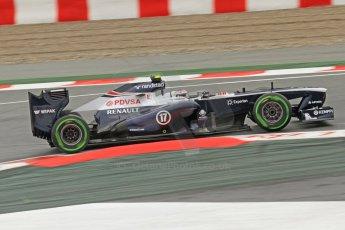 World © Octane Photographic Ltd. F1 Spanish GP, Circuit de Catalunya, Friday 10th May 2013. Practice 1. Valterri Bottas - Williams. Digital Ref : 0659cb7d8817