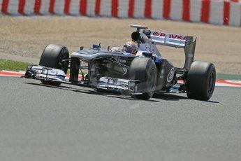 World © Octane Photographic Ltd. F1 Spanish GP, Circuit de Catalunya, Friday 10th May 2013. Practice 2. Williams - Pastor Maldonado. Digital Ref : 0661cb1d9444