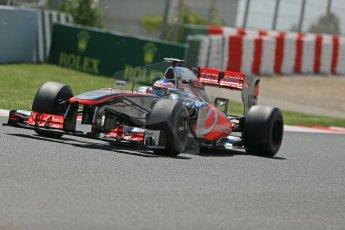 World © Octane Photographic Ltd. F1 Spanish GP, Circuit de Catalunya, Friday 10th May 2013. Practice 2. Vodafone McLaren Mercedes - Jenson Button. Digital Ref : 0661cb1d9492