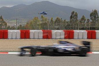 World © Octane Photographic Ltd. F1 Spanish GP, Circuit de Catalunya, Friday 10th May 2013. Practice 2. Williams - Valterri Bottas. Digital Ref : 0661cb7d8879