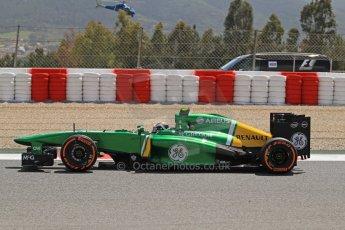 World © Octane Photographic Ltd. F1 Spanish GP, Circuit de Catalunya, Friday 10th May 2013. Practice 2. Caterham CT03 - Giedo van der Garde. Digital Ref : 0661cb7d8923