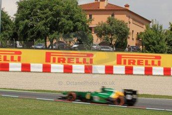 World © Octane Photographic Ltd. F1 Spanish GP, Circuit de Catalunya, Friday 10th May 2013. Practice 2. Caterham CT03 - Charles Pic. Digital Ref : 0661cb7d8947