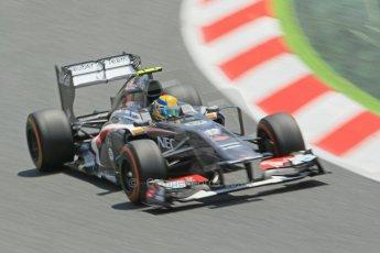 World © 2013 Octane Photographic Ltd. F1 Spanish GP, Circuit de Catalunya - Sunday 12th May 2013 - Race. Sauber C32, Esteban Gutierrez. Digital Ref : 0673cb1d2519
