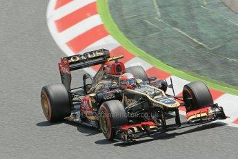 World © 2013 Octane Photographic Ltd. F1 Spanish GP, Circuit de Catalunya - Sunday 12th May 2013 - Race. Lotus F1 Team E21 - Romain Grosjean. Digital Ref : 0673cb1d2603