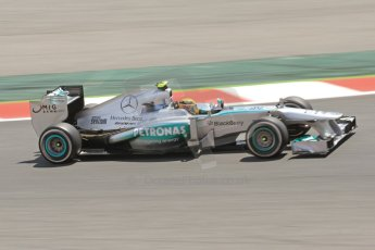 World © 2013 Octane Photographic Ltd. F1 Spanish GP, Circuit de Catalunya - Sunday 12th May 2013 - Race. Mercedes W04 – Lewis Hamilton. Digital Ref: 0673cb7d9310