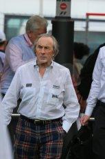 World © Octane Photographic Ltd. F1 Spanish GP - Saturday Paddock - 11th May 2013. Sir Jackie Stewart. Digital Ref : 0668cb1d0289