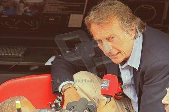 World © Octane Photographic Ltd. F1 Spanish GP - Saturday Paddock - 11th May 2013. Luca di Montezemolo - Scuderia Ferrari. Digital Ref : 0668cb1d1534