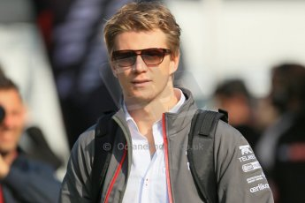 World © 2013 Octane Photographic Ltd. F1 Spanish GP, Circuit de Catalunya - Sunday 12th May 2013 - Paddock. Sauber - Nico Hulkenberg. Digital Ref : 0675cb1d1916