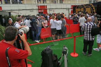 World © Octane Photographic Ltd. F1 Spanish GP Thursday 9th May 2013. Press Conference. (paddock). Open press conference. Digital Ref :