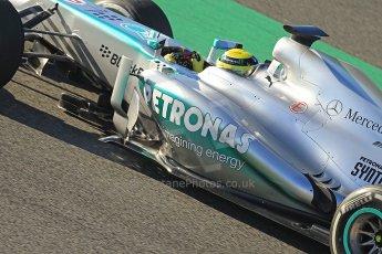World © Octane Photographic Ltd. Formula 1 Winter Test Jerez – Day 1 – Tuesday 5th February 2013. Nico Rosberg  - Mercedes AMG Petronas F1 W04. Digital Ref: 0571cb7d2354