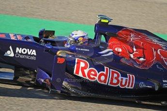 World © Octane Photographic Ltd. Formula 1 Winter Test Jerez – Day 1 – Tuesday 5th February 2013. Toro Rosso STR8, Daniel Ricciardo. Digital Ref: 0571cb7d2357