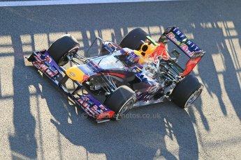 World © Octane Photographic Ltd. Formula 1 Winter Test Jerez – Day 1 – Tuesday 5th February 2013. Infiniti Red Bull Racing RB9. Mark Webber. Digital Ref: 0571cb7d6532