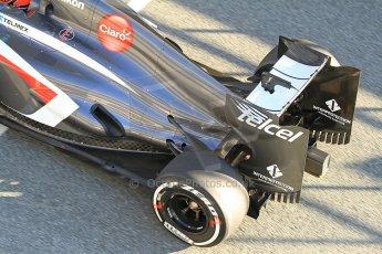 World © Octane Photographic Ltd. Formula 1 Winter Test Jerez – Day 1 – Tuesday 5th February 2013. Sauber C32, Nico Hulkenberg. Digital Ref: 0571cb7d6549