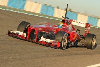 World © Octane Photographic Ltd. Formula 1 Winter testing, Jerez, 7th February 2013. Ferrari F138 – Felipe Massa. Digital Ref: 0573cb7d7149