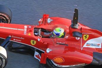 World © Octane Photographic Ltd. Formula 1 Winter testing, Jerez, 7th February 2013. Ferrari F138 – Felipe Massa. Digital Ref: 0573cb7d7192