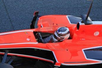 World © Octane Photographic Ltd. Formula 1 Winter testing, Jerez, 7th February 2013. Marussia MR02, Max Chilton. Digital Ref: 0573cb7d7210