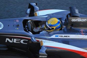 World © Octane Photographic Ltd. Formula 1 Winter testing, Jerez, 7th February 2013. Sauber C32, Esteban Gutierrez. Digital Ref: 0573cb7d7214