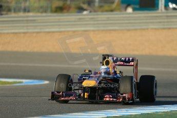 World © Octane Photographic Ltd. Formula 1 Winter testing, Jerez, 7th February 2013. Infiniti Red Bull Racing RB9, Sebastian Vettel. Digital Ref: 0573lw1d9130