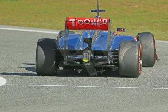 World © Octane Photographic Ltd. Formula 1 Winter testing, Jerez, 7th February 2013. Vodafone McLaren Mercedes MP4/28, Jenson Button. Digital Ref: 0573lw1d9482