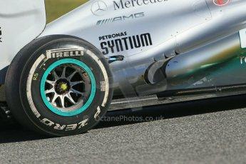 World © Octane Photographic Ltd. Formula 1 Winter testing, Jerez, 7th February 2013. Mercedes AMG Petronas F1 W04, Nico Rosberg. Digital Ref: 0573lw1d9538