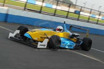 World © Octane Photographic Ltd. MSV F3 Cup, Donington Park, Qualifying 28th September 2013. Enigma Motorsport, Dallara F301 Renault Sodemo, Olly Rae. Digital Ref :