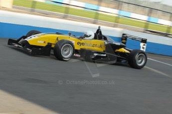 World © Octane Photographic Ltd. MSV F3 Cup, Donington Park, Qualifying 28th September 2013. Dallara F306 Renault Sodemo, Lewis Hamilton-Smith. Digital Ref : 0832lw1d9184