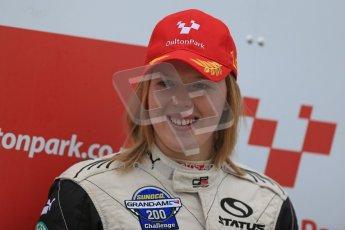 World © Octane Photographic Ltd. F3 Cup – Oulton Park - Race 1, Monday 1st April 2013. Alice Powell – Mark Bailey Racing - Dallara F305. Digital Ref : 0624lw1d0009