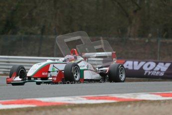 World © Octane Photographic Ltd. F3 Cup – Oulton Park - Race 1, Monday 1st April 2013. Alice Powell – Mark Bailey Racing - Dallara F305. Digital Ref : 0624lw1d9809