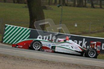 World © Octane Photographic Ltd. F3 Cup – Oulton Park - Race 1, Monday 1st April 2013. Alice Powell – Mark Bailey Racing - Dallara F305. Digital Ref : 0624lw1d9879