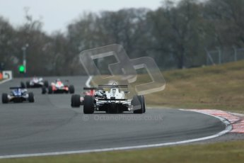 World © Octane Photographic Ltd. F3 Cup – Oulton Park, Monday 1st April 2013 – Race 2. Green flag lap. Digital Ref : 0626lw1d0118