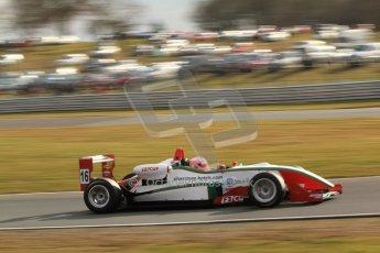 World © Octane Photographic Ltd. F3 Cup – Oulton Park, Monday 1st April 2013 – Race 2. Alice Powell – Mark Bailey Racing - Dallara F305. Digital Ref : 0626lw7d3801