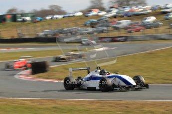 World © Octane Photographic Ltd. F3 Cup – Oulton Park, Monday 1st April 2013 – Race 2. Gino Ussi – Grays Motorsport - Dallara F305/7. Digital Ref : 0626lw7d3820