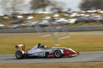 World © Octane Photographic Ltd. F3 Cup – Oulton Park, Monday 1st April 2013 – Race 2. Stuart Wiltshire – Mark Bailey Racing - Dallara F306. Digital Ref : 0626lw7d3827
