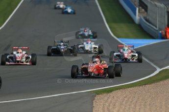 World © Octane Photographic Ltd. BRDC Formula 4 (F4) Race 1, Donington Park 28th September 2013. MSVF4-13, CDR (Chris Dittmann Racing), Max Cornelius. Digital Ref : 0833lw1d9667