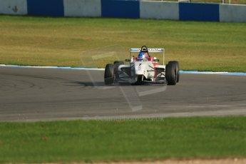 World © Octane Photographic Ltd. BRDC Formula 4 (F4) Race 1, Donington Park 28th September 2013. MSVF4-13, Lanan Racing, Jake Hughes. Digital Ref : 0833lw1d9730