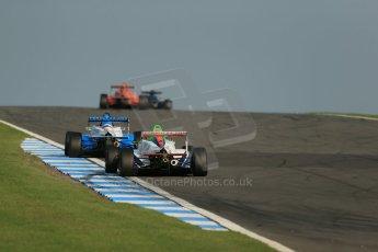World © Octane Photographic Ltd. BRDC Formula 4 (F4) Race 1, Donington Park 28th September 2013. Digital Ref : 0833lw1d9749