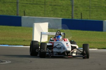 World © Octane Photographic Ltd. BRDC Formula 4 (F4) Race 1, Donington Park 28th September 2013. MSVF4-13, Lanan Racing, Jake Hughes. Digital Ref : 0833lw1d9779