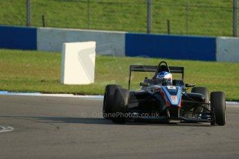 World © Octane Photographic Ltd. BRDC Formula 4 (F4) Race 1, Donington Park 28th September 2013. MSVF4-13, SWR (Sean Walkinshaw Racing), Matthew (Matty) Graham. Digital Ref : 0833lw1d9782