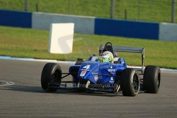 World © Octane Photographic Ltd. BRDC Formula 4 (F4) Race 1, Donington Park 28th September 2013. MSVF4-13, Team KBS, James Fletcher. Digital Ref : 0833lw1d9802