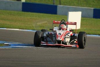 World © Octane Photographic Ltd. BRDC Formula 4 (F4) Race 1, Donington Park 28th September 2013. MSVF4-13, HHC Motorsport, Raoul Hyman. Digital Ref : 0833lw1d9807