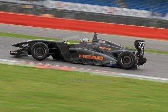World © Octane Photographic Ltd. BRDC Formula 4 (F4) Championship, Silverstone, April 27th 2013. MSV F4-013, Team KBS, Falco Wauer. Digital Ref : 0642cb7d9346