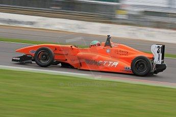 World © Octane Photographic Ltd. BRDC Formula 4 (F4) Championship, Silverstone, April 27th 2013. MSV F4-013, Hillspeed, Seb Morris. Digital Ref : 0642cb7d9394
