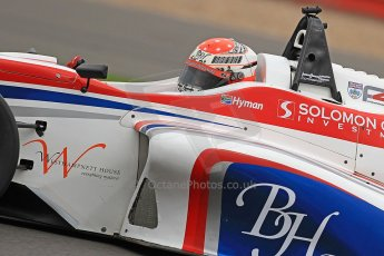 World © Octane Photographic Ltd. BRDC Formula 4 (F4) Championship, Silverstone, April 27th 2013. MSV F4-013, HHC Motorsport, Raoul Hyman. Digital Ref : 0642cb7d9493