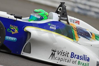 World © Octane Photographic Ltd. BRDC Formula 4 (F4) Championship, Silverstone, April 27th 2013. MSV F4-013, HHC Motorsport, Gustavo Lima. Digital Ref : 0642cb7d9497