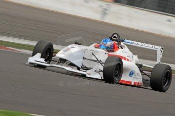 World © Octane Photographic Ltd. BRDC Formula 4 (F4) Championship, Silverstone, April 27th 2013. MSV F4-013, Lanan Racing, Jake Hughes. Digital Ref : 0642cb7d9593