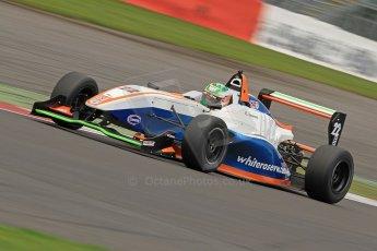 World © Octane Photographic Ltd. BRDC Formula 4 (F4) Championship, Silverstone, April 27th 2013. MSV F4-013, James Greenway. Digital Ref : 0642cb7d9610