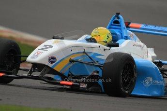 World © Octane Photographic Ltd. BRDC Formula 4 (F4) Championship, Silverstone, April 27th 2013. MSV F4-013, Douglas Motorsport, Malgosia Ridest. Digital Ref : 0642lw7d6971