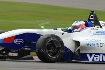 World © Octane Photographic Ltd. BRDC Formula 4 (F4) Championship, Silverstone, April 27th 2013. MSV F4-013, Mark Goodwin Racing, Jake Dalton. Digital Ref : 0642lw7d6982