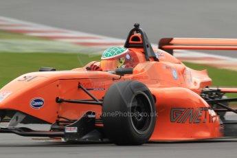 World © Octane Photographic Ltd. BRDC Formula 4 (F4) Championship, Silverstone, April 27th 2013. MSV F4-013, Hillspeed, Seb Morris. Digital Ref : 0642lw7d7005
