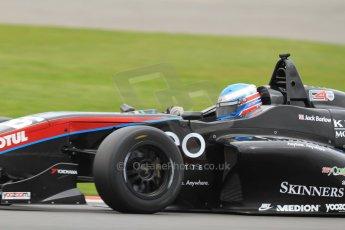 World © Octane Photographic Ltd. BRDC Formula 4 (F4) Championship, Silverstone, April 27th 2013. MSV F4-013, Sean Walkinshaw Racing, Jack Barlow.  Digital Ref : 0642lw7d7135